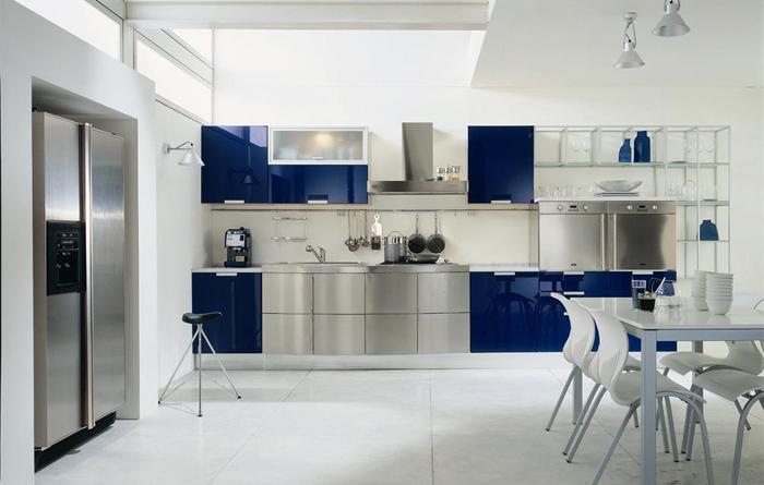 Комбинация цветов на кухне