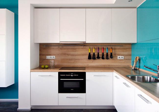 Кухонный фартук из МДФ панелей