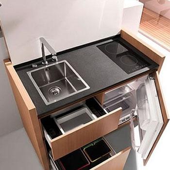 Кухни-трансформеры: мебель нового поколения