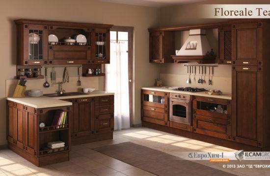 Кухня Floreale Teak