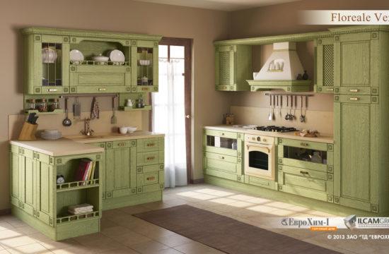 Кухня Floreale Verde