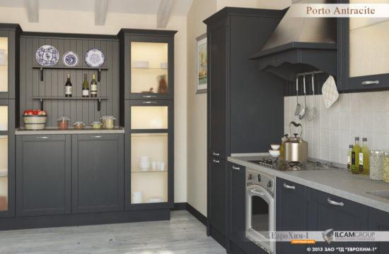 Кухня Porto Antracite