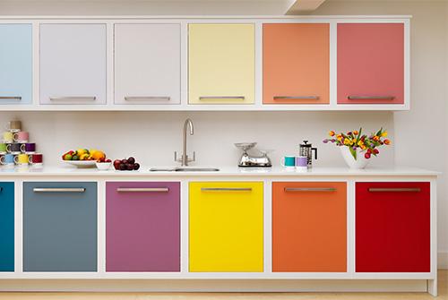 Цвет на кухне
