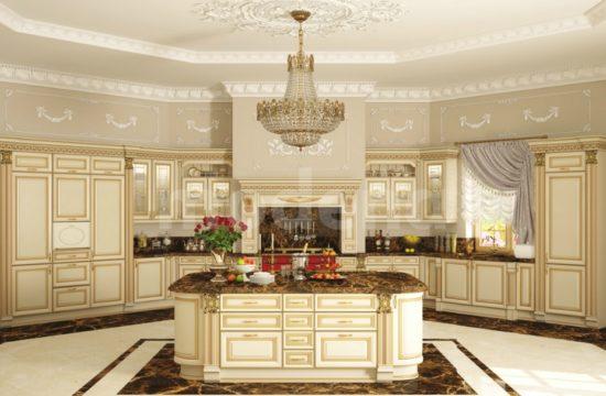 Кухня Ника ДОРО бежевый