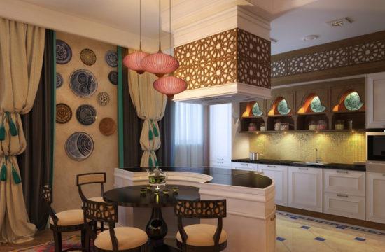 Национальные мотивы в дизайне современных кухонь