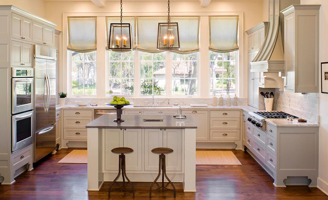 Романтический стиль в кухнях 2019