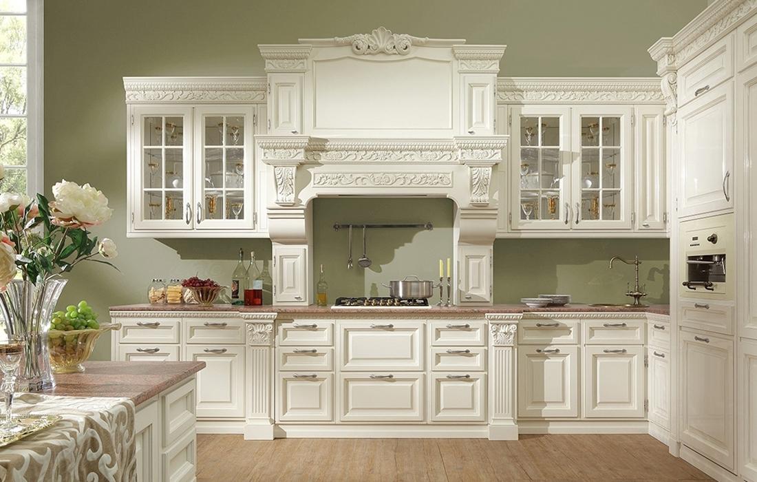 Белая кухня - пример