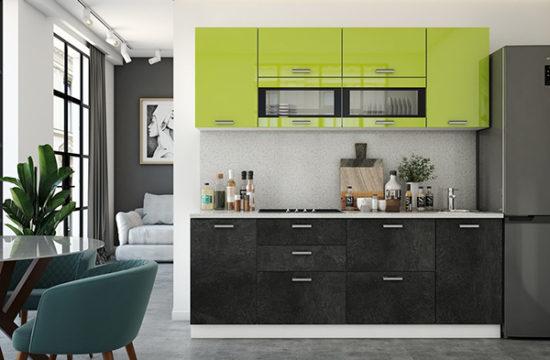 Прямые кухни: особенности, дизайн, стили, преимущества