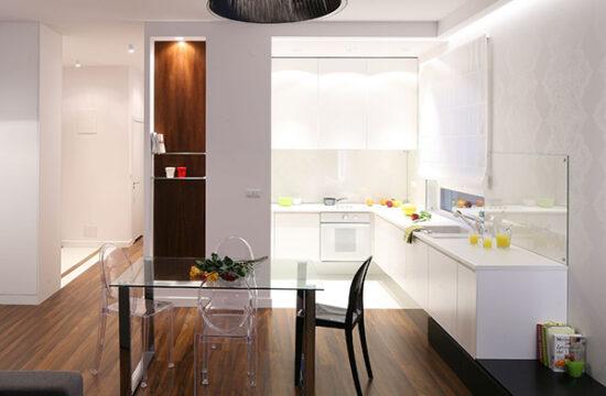 Обустройство и дизайн кухни без окна